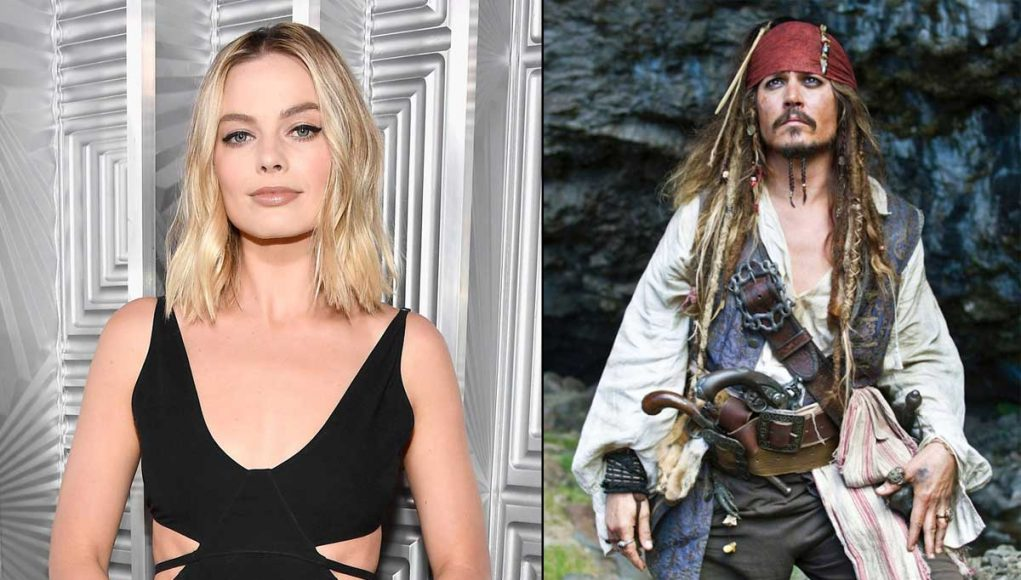 Margot Robbie to star in Pirates of the Caribbean movie