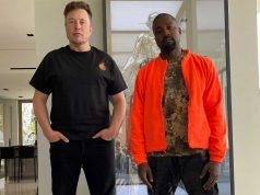 Kanye West and Elon Musk