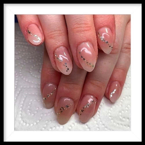 Nude with Sparkles