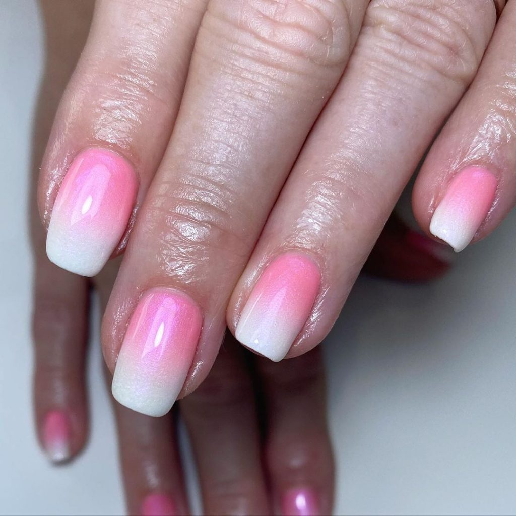 Pink French Ombré