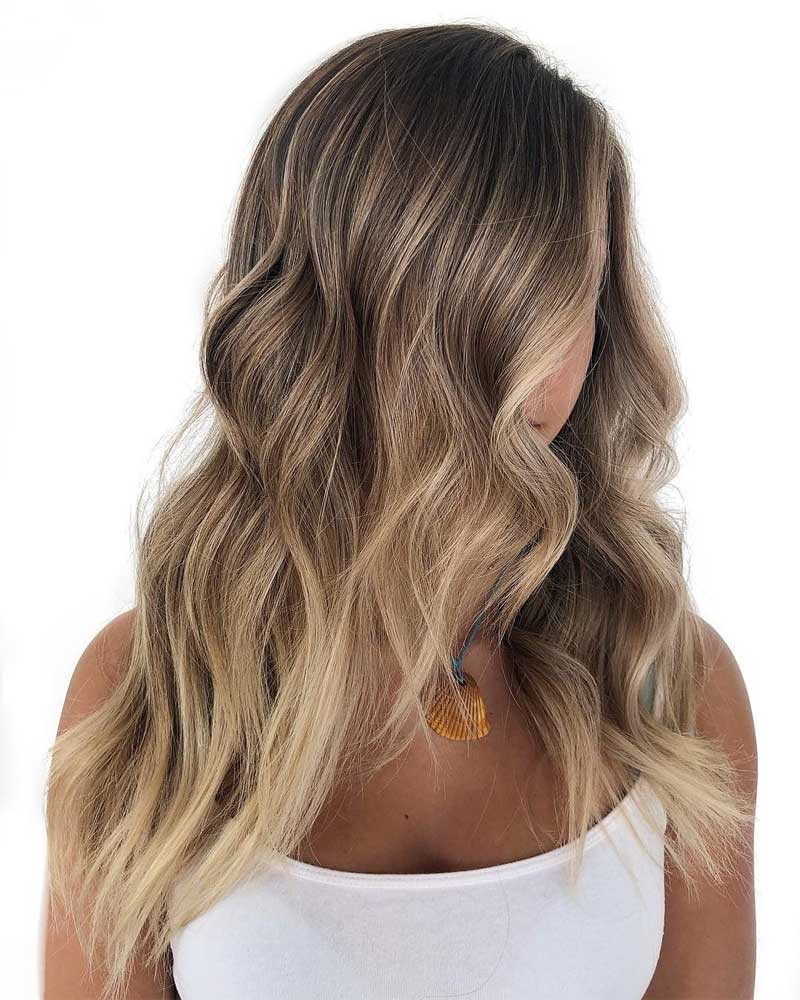 Sunny Blonde Ombre