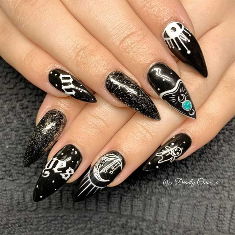 wicked witch of manicures