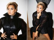 Demi Lovato Debuts New Blonde Half-Shaved Haircut