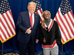 Lil Wayne with President Trump