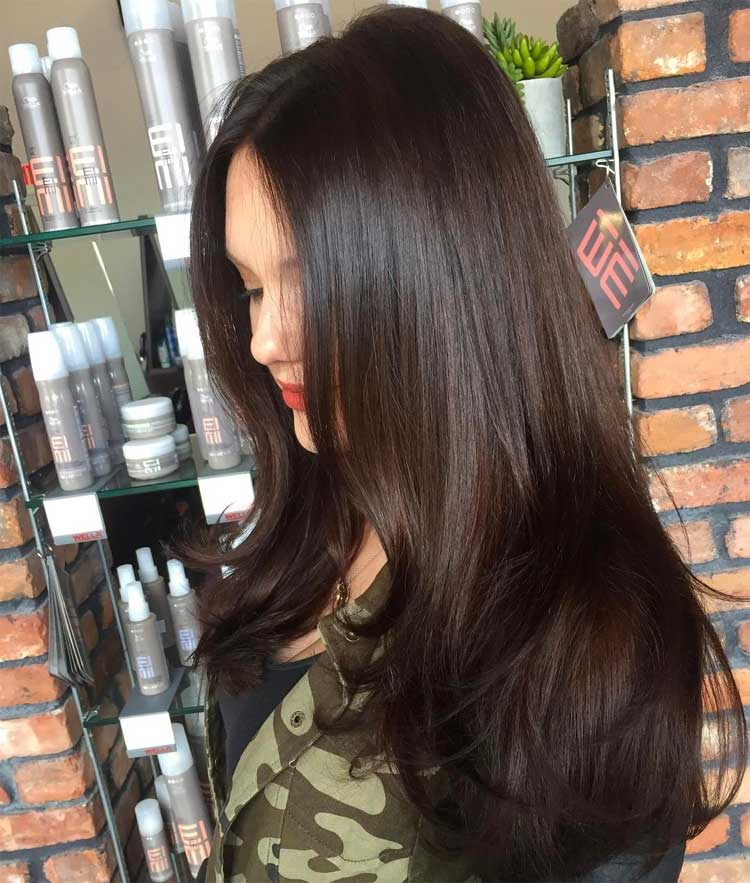 Long Subtle Layered Hairstyle