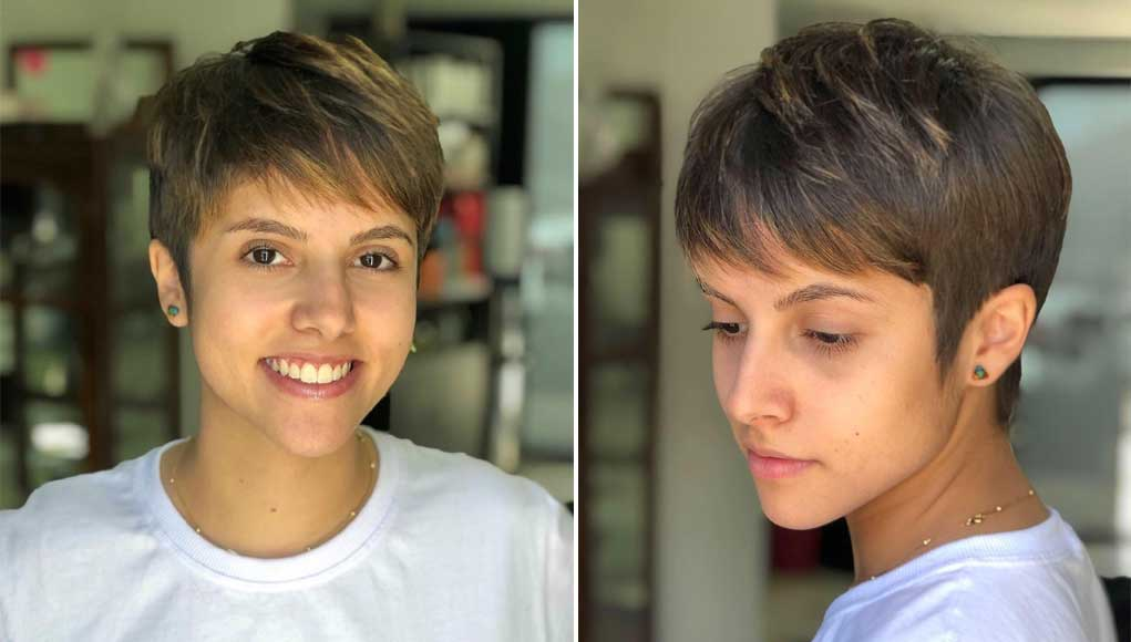 Perfect Pixie Haircuts with Bangs