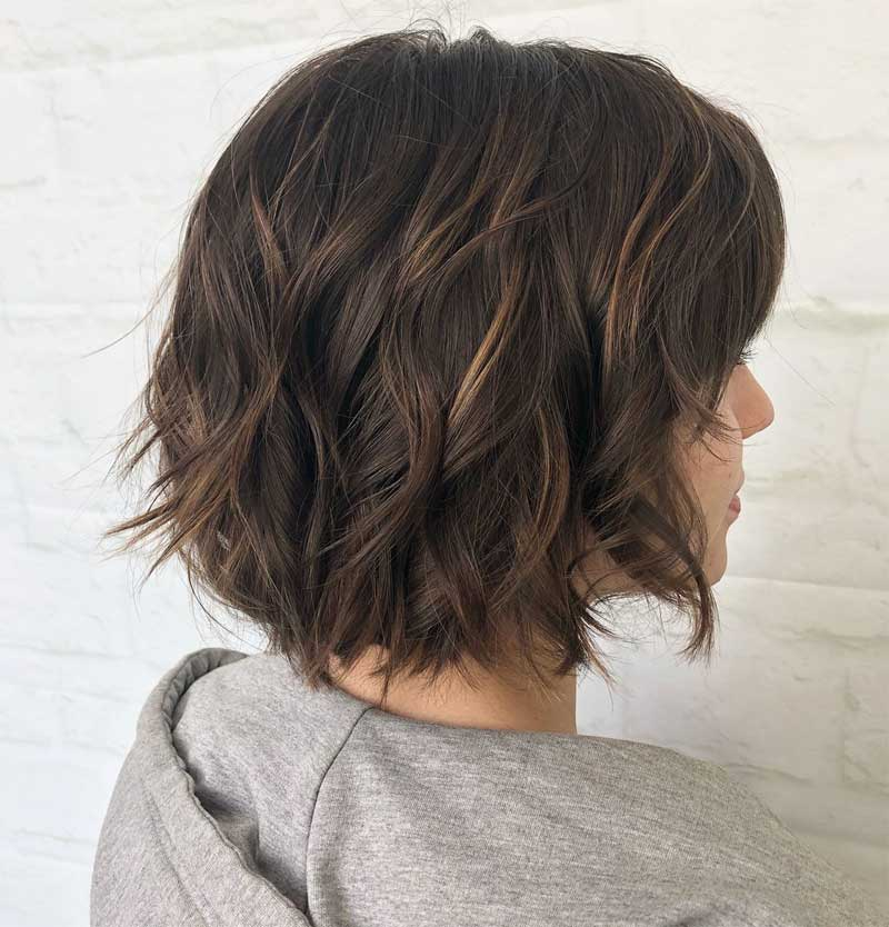 Sliced Messy Waves Bob